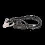 Geräuschkompensiertes Tarngarnitur mit Ohrhörer und integrierter PTT