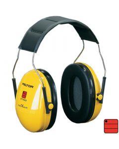 Capsules de protection auditive Optime I - serre-tête, jaune