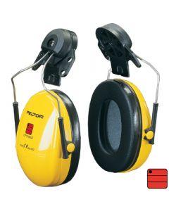 Capsules de protection auditive Optime I - attaches casque, jaune
