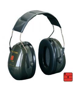 Capsules de protection auditive Optime II - serre-tête, vert