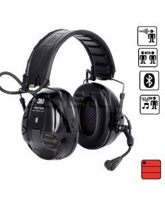 Garniture de communication avec protection auditive WS Workstyle Bluetooth - serre tête