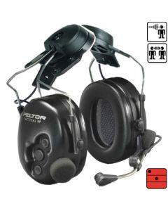 Garniture de communication avec protection auditive Flex XP Tactique -  attaches casque