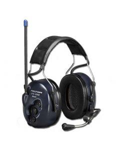Garniture de communication avec protection auditive LiteCom avec PMR446 - attaches casque