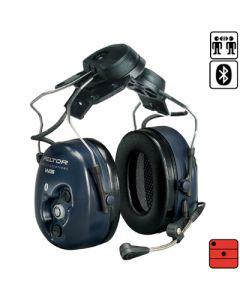 Garniture de communication avec protection auditive WS avec Bluetooth - attaches casque (pour GSM ou radio)