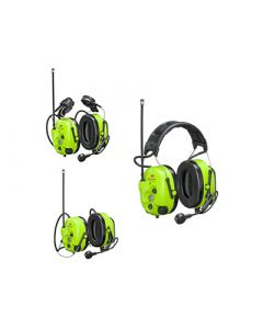 Protection auditive avec radio analogique et numérique préprogrammée intégrée
