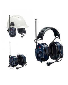 Headset avec radio analogique/numérique intégrée, Bluetooth